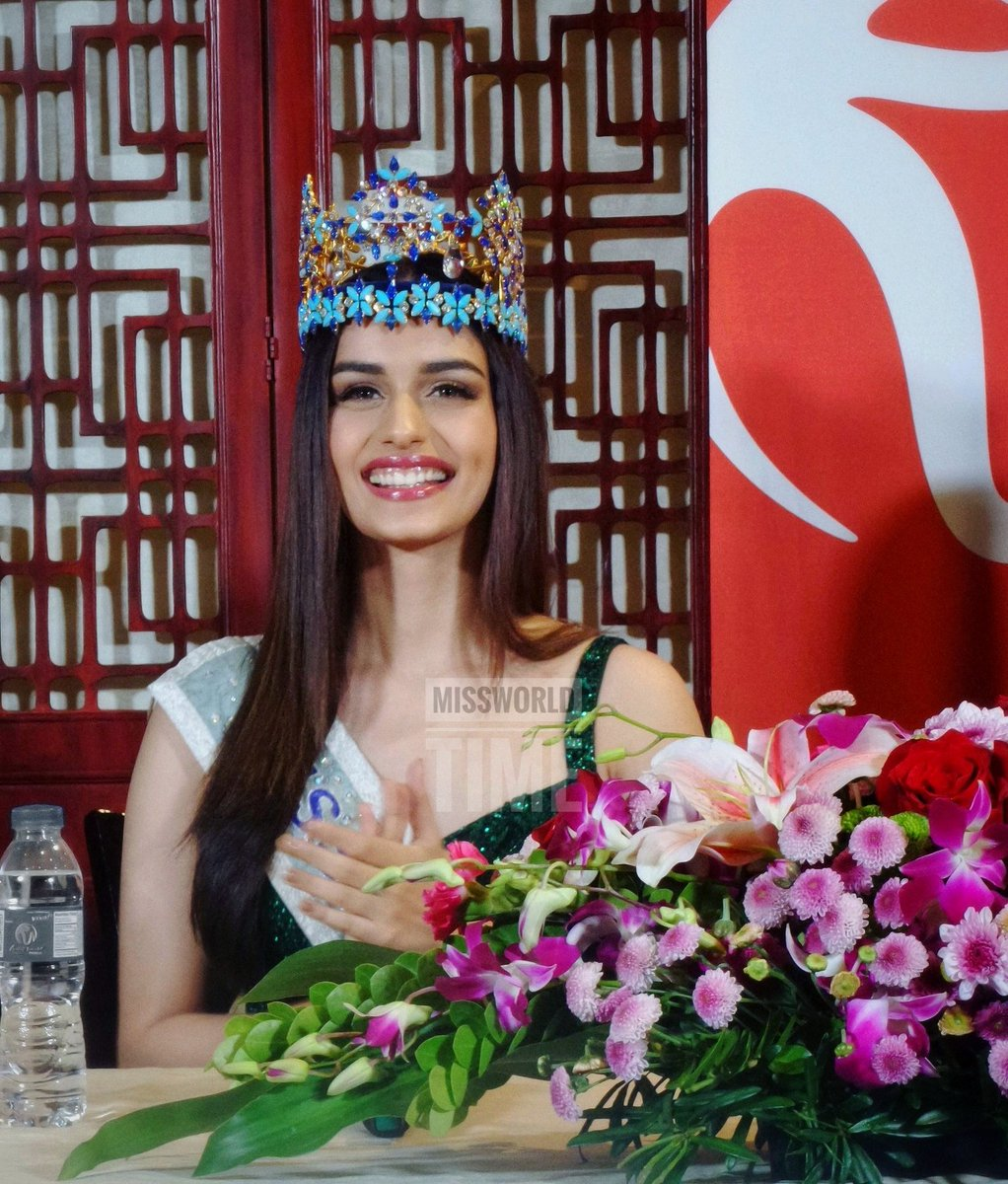 The Official Thread of Miss World 2017 ® Manushi Chhillar - India - Page 5 DoxQJScUYAA04D0