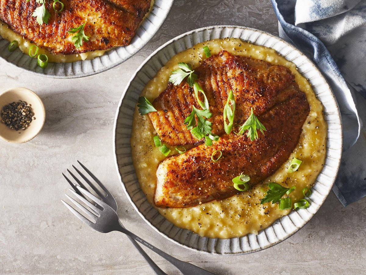 This Blackened Tilapia And Cauliflower Polenta Is Your New Weeknight Fish Staple: https://t.co/t7SdUxD0GA https://t.co/hEzWTRavbA