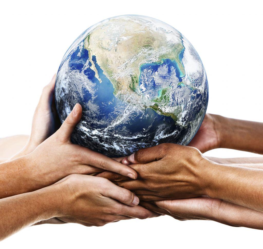 этом земной шар и люди фото нужно разобраться, как