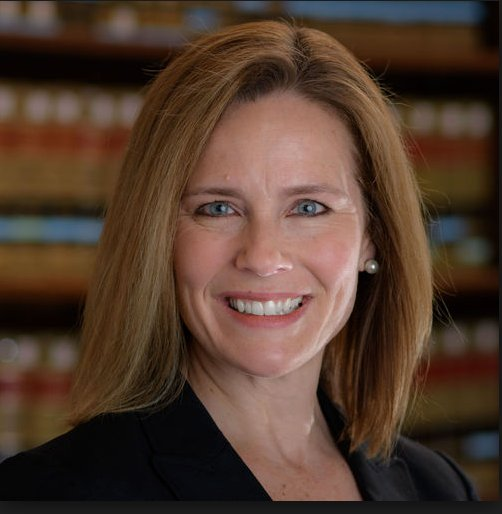 If Justice Thomas or Justice Ruth Bader Ginsburg steps down next year or in the coming years (Contingent on if Trump wins in 2020) I give you your next nominee, Amy Coney Barrett of Indiana. <br>http://pic.twitter.com/gdtlNh5vJm