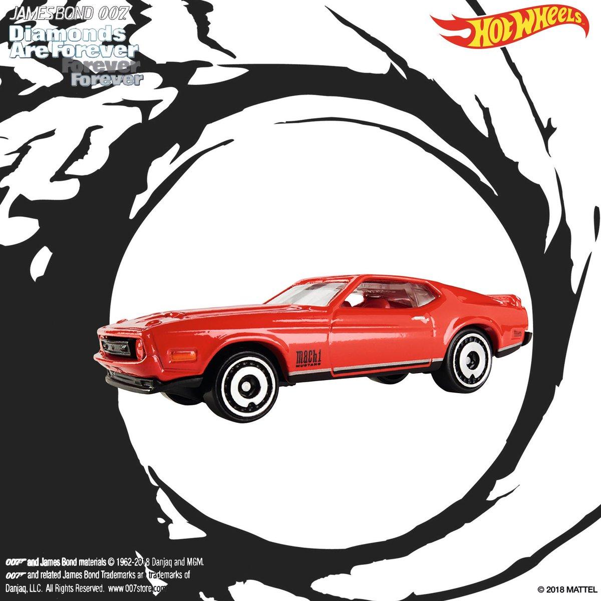 Hot Wheels James Bond 007 Mustang Diamonds Are Forever