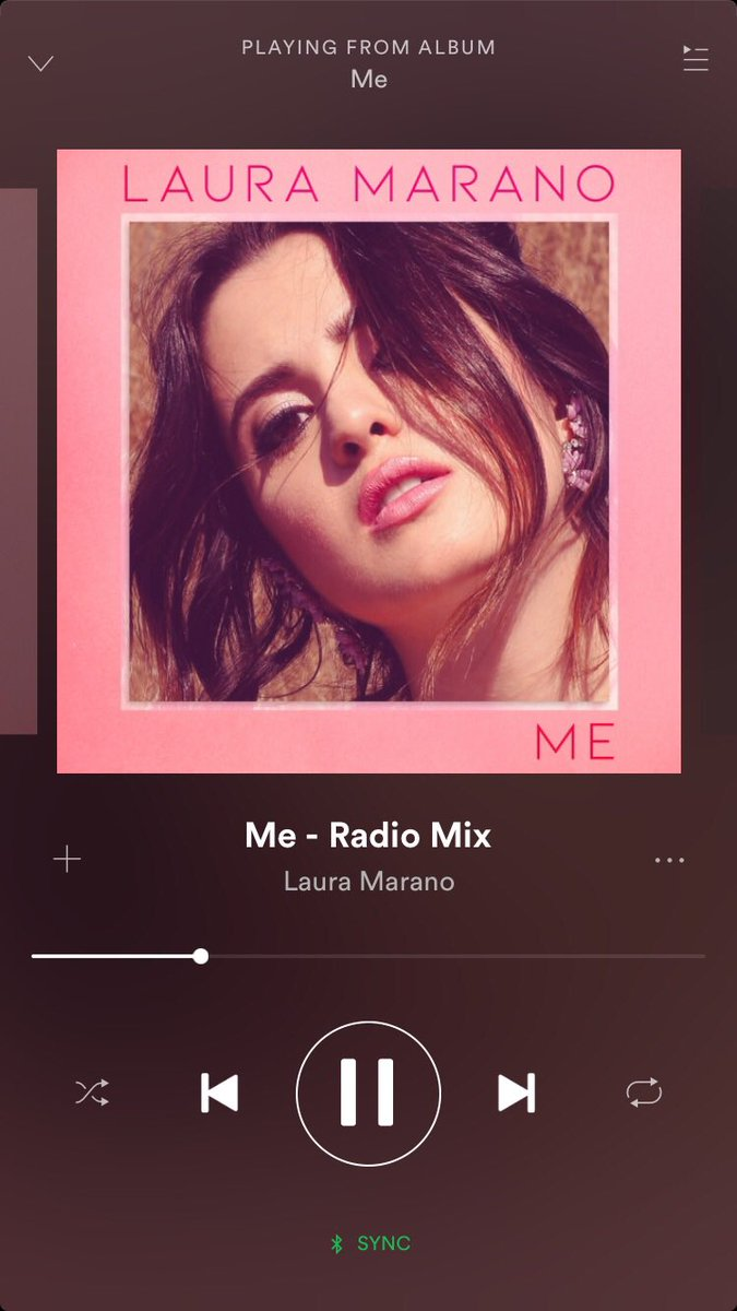 and so begins me streaming this all day! I highly suggest you do the same 😏 @lauramarano