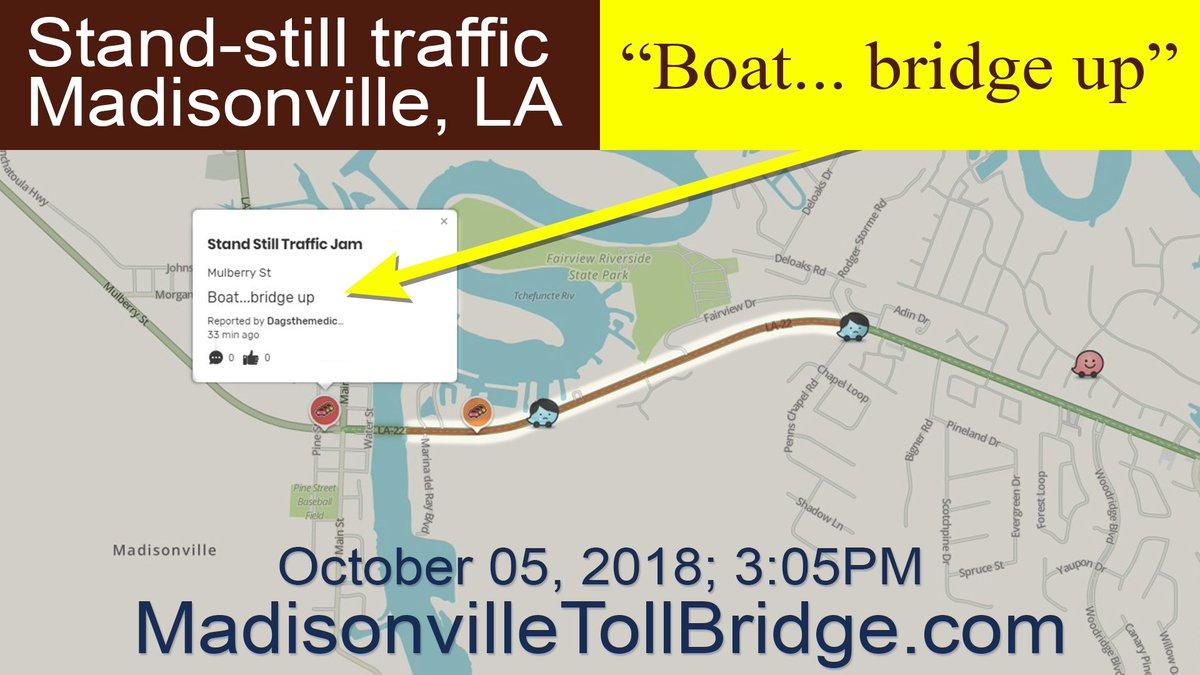 Madisonville Toll Bridge on Twitter: