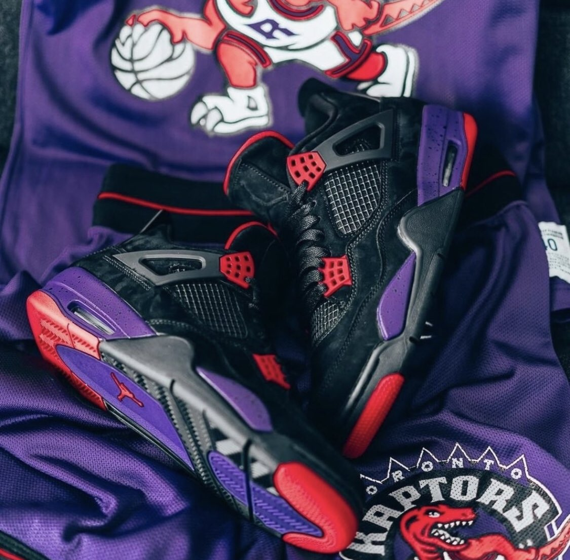 "8819aff84d Sizes 10-14 restocked Air Jordan 4 Retro NRG ""Raptors"" with FREE shipping"