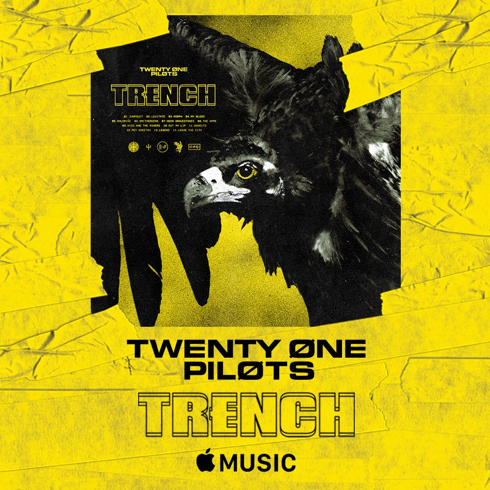 twenty one pilots on twitter we made an album we made it for you