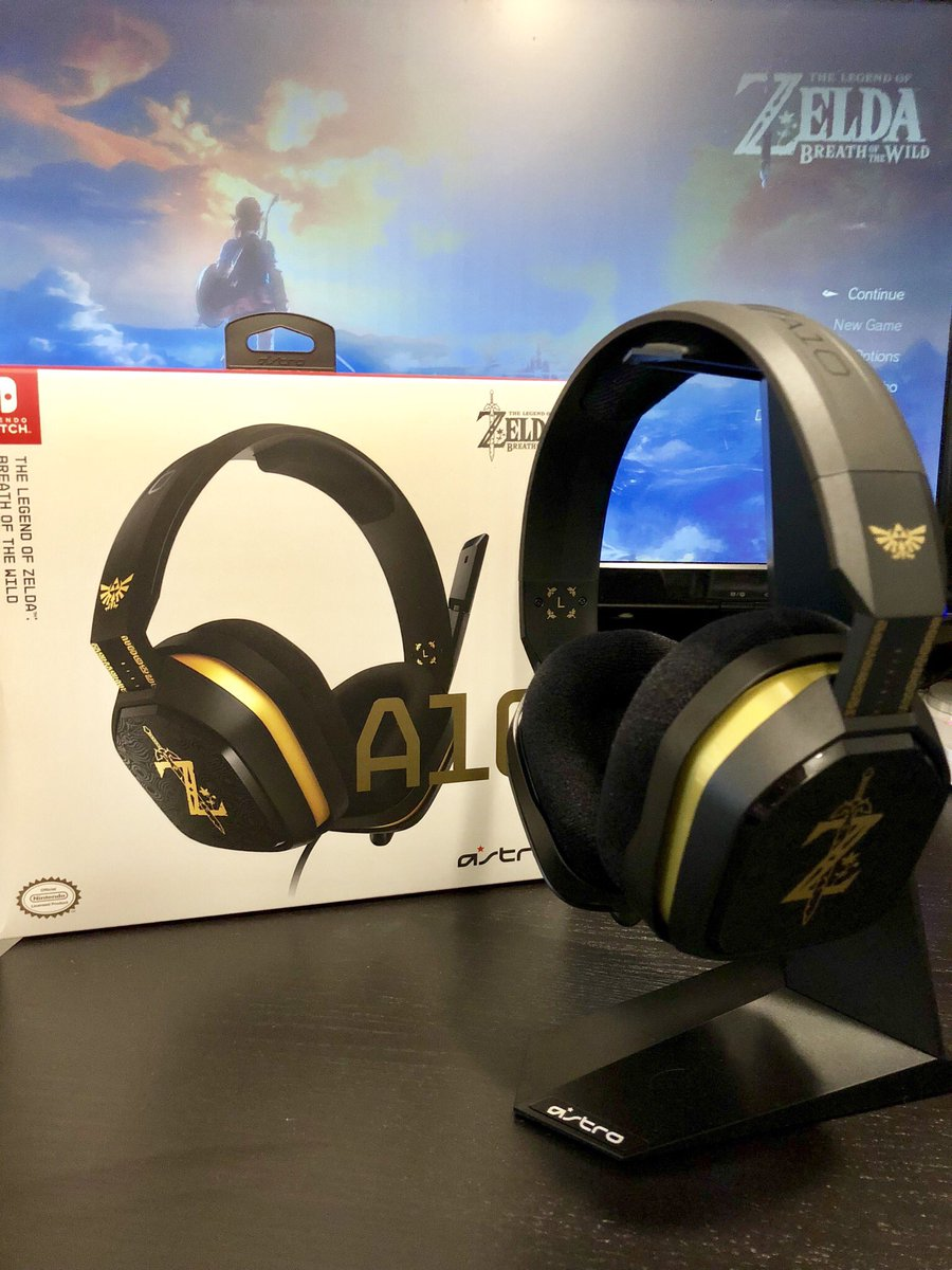 18b2127e1ee6b2 ... @ASTROGaming Breath of the Wild A10 headset waiting for you. I love  being in the #AstroFamily! (BTW, get 5% off your order at https://astro.family/Moo  ) ...