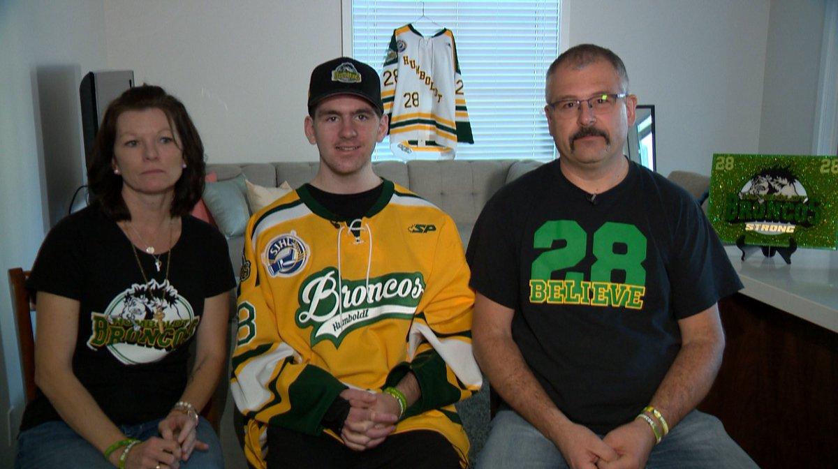 SJHL: Humboldt Broncos Player Layne Matechuk Leaves Hospital After 6 Month Stay