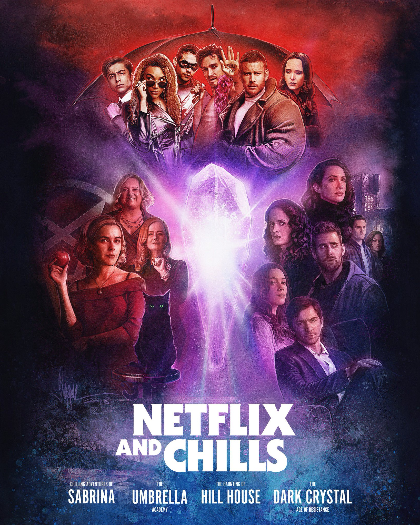Nx On Twitter Alright It S Time For Netflixandchills Better Turn On All The Lights Because This Is Gonna Be The Spoopiest Live Tweet Ever Https T Co Wjcfssgzvc
