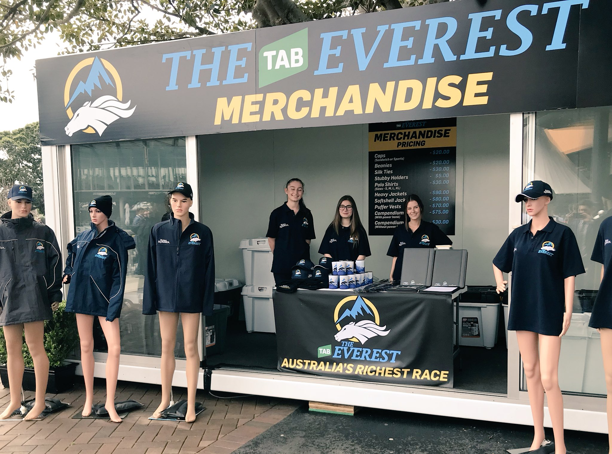 Racing Nsw On Twitter Be Sure To Check Out Theeverest Merchandise Tas Polo Design Store At Royalrandwick Today
