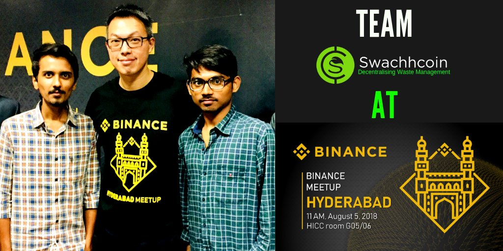 Watch @Teddy_Lin, Head of Markets for #Binance , deliver his speech on what digital asset #exchanges should look for at the inaugural edition of the #IBC, India. #IBC2018 @enblocibc #nCASH  It was great meeting w/ you, discussing the future of @swachhcoin!  https:// youtu.be/sDr15js7pFk    <br>http://pic.twitter.com/wLPTpvICy3