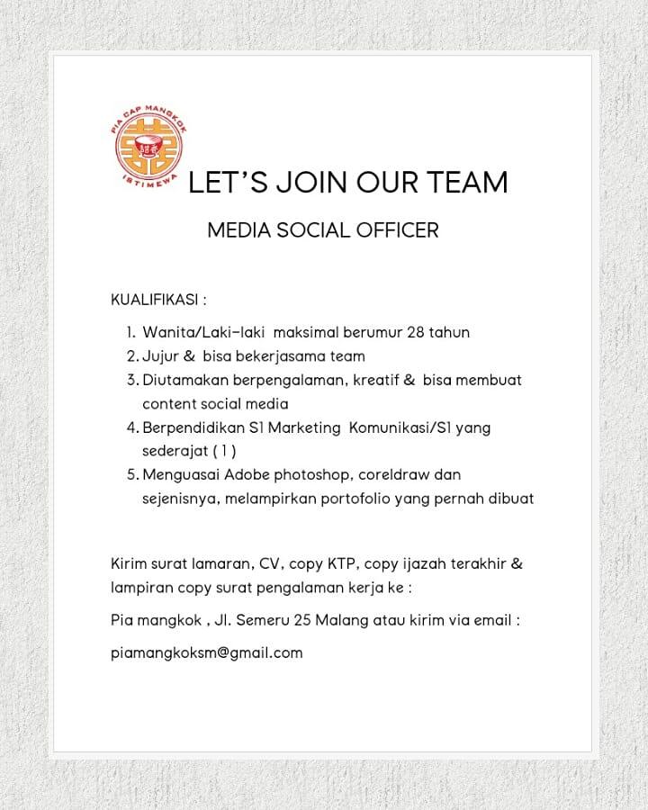 Ig Lokermalang على تويتر Lokermlg Lets Join Our Team