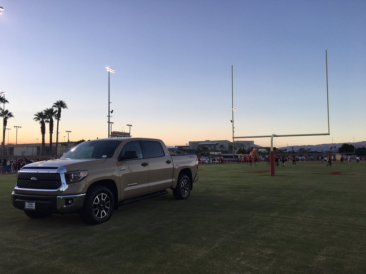 Toyota Of The Desert >> Toyota Of The Desert On Twitter Friday Night Lights With