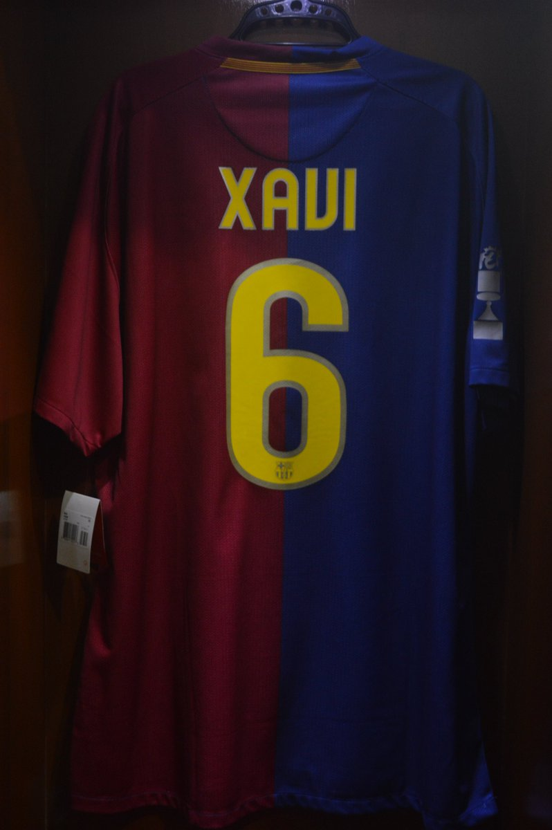 dd9e6f8e530 #Jersey4Sale Barcelona Home 2008/09 Player Issue Size 2XL Brand New With  Tag XAVI #6 Patch & MDT Copa Del Rey All Original IDR  1.200.000pic.twitter.com/ ...