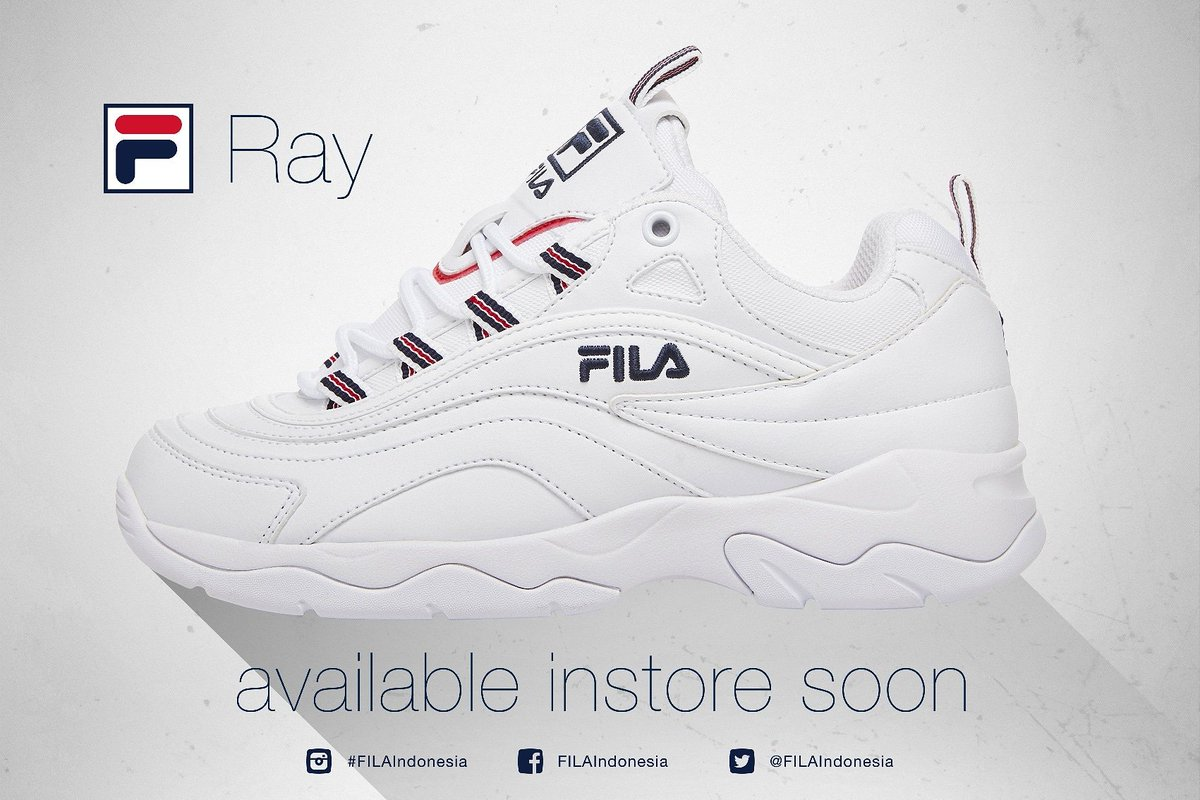 fdfba6fce FILA  RAY •AVAILABLE INSTORE SOON• • • •  Filaray  fila  ray ...