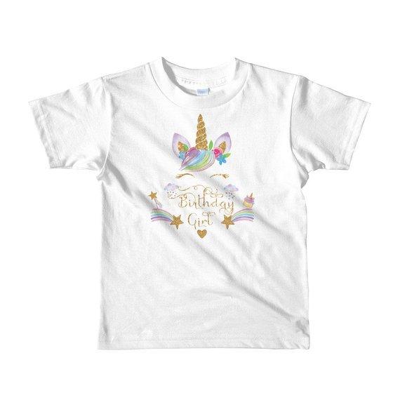 fe7d2e19e ... unicorn theme birthday,custom unicorn birthday shirt , kids t-shirt  #GoldUnicornHorn #BirthdayGirl #birthday #GirlsBirthday #UnicornBirthday ...