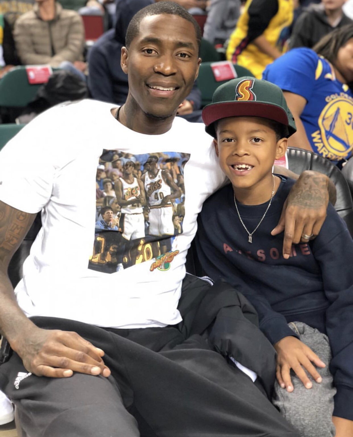 .@JCrossover's shirt. ��  (�� @NBA) https://t.co/F9Id7shlSr