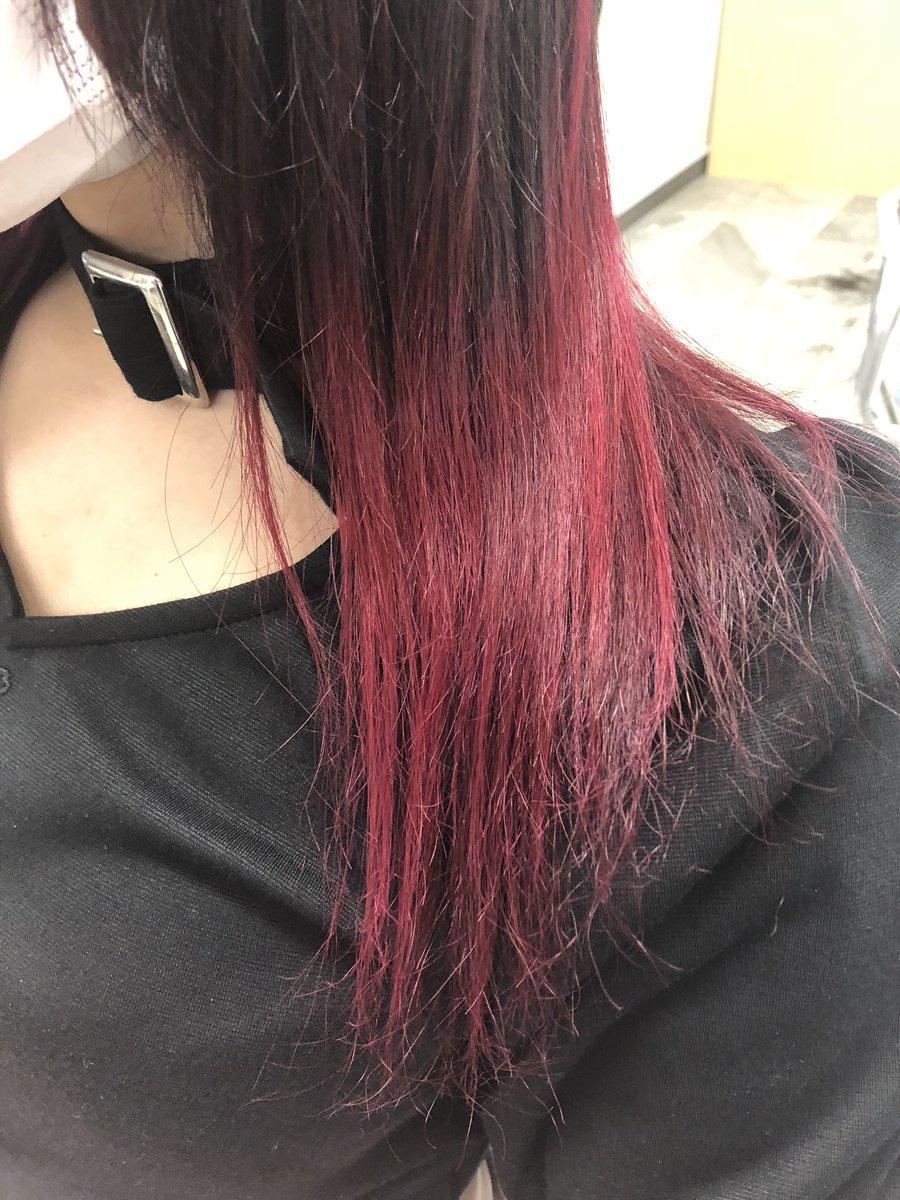 髪色は赤系に挑戦したい!市販ヘアカラー暗め・明るめやアレンジ