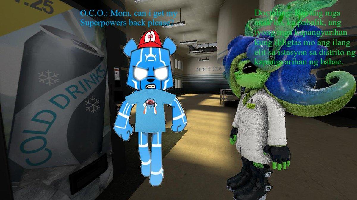 marcel1029_ Battle Bears Fanart: The Doctor (which is O C O