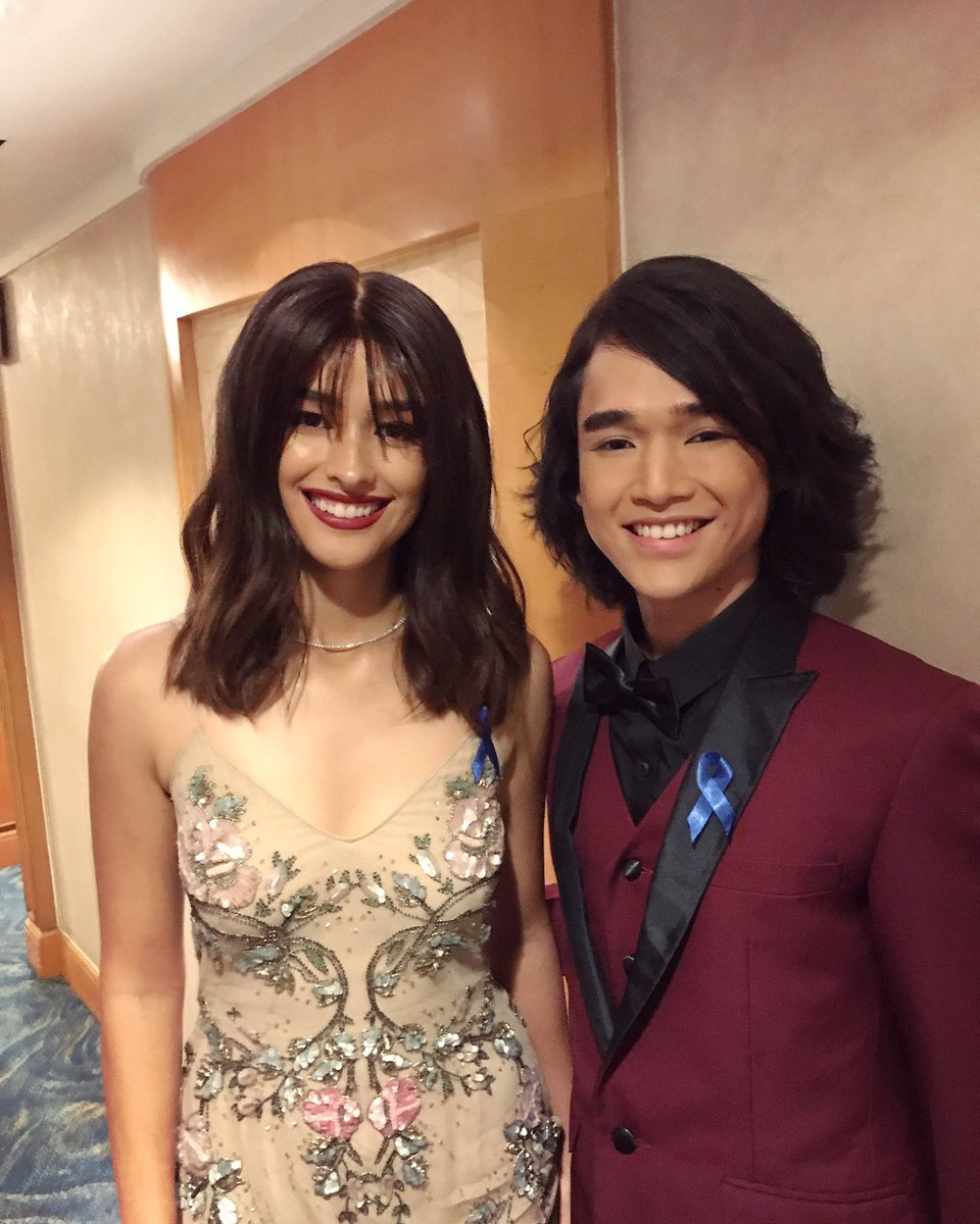 Kind &amp; Stunning great combo   I&#39;m a star struck fella as always Thanks Hopey   @lizasoberano   #ABSCBNBall2018 <br>http://pic.twitter.com/JbmlbTOjma