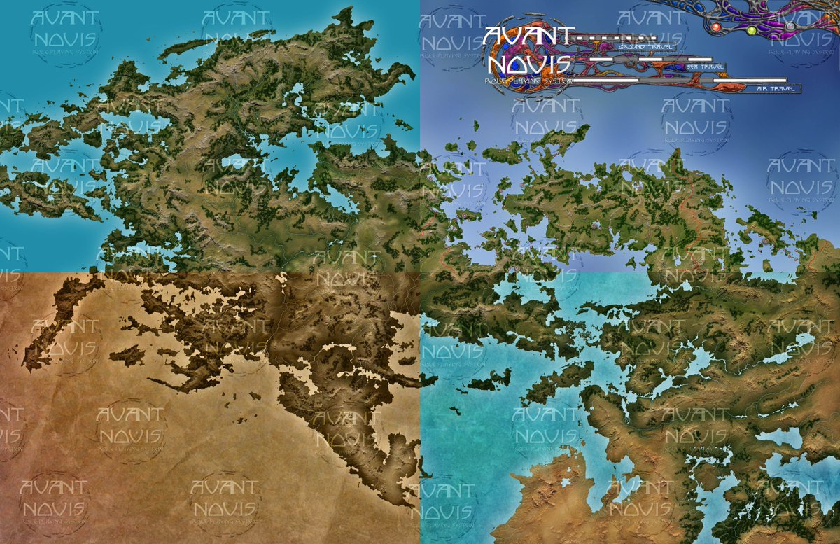 Avantnovis On Twitter Here A Preview Of Our Campain Maps