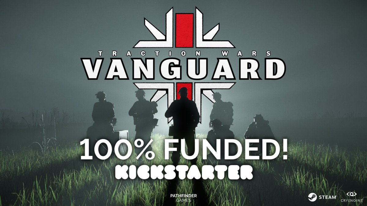 It's not over yet though. 1st stretch goal - Canadians at £13K. Big step -  can we do it? http://kck.st/2p1xelp #kickstarter #gaming #indiegame ...