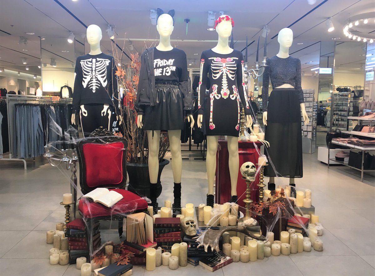 521e0361301 Drop by H M U.P. Town Center this weekend to shop the full collection! Snap  your spookiest Halloween look and get a chance to win a P5