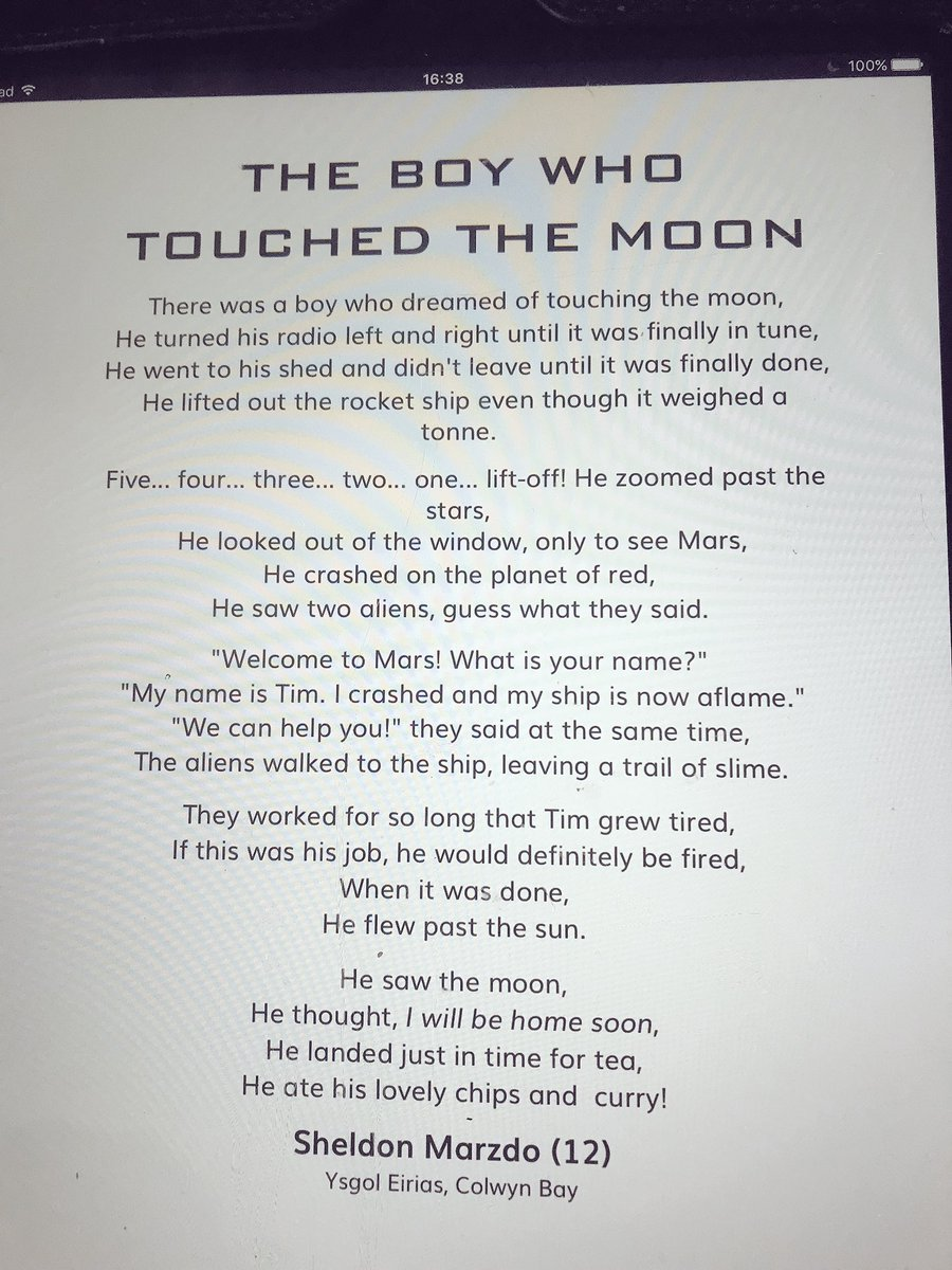 Sam Marzolo On Twitter Thought I D Share A Poem My Son Wrote For Young Writers He Won And It Is Now Being Published In The Poetry Games From Wales So Proud Astro Timpeake Https T Co 8ub7ucogtt You are loved so very much in every possible way. poem my son wrote for young writers