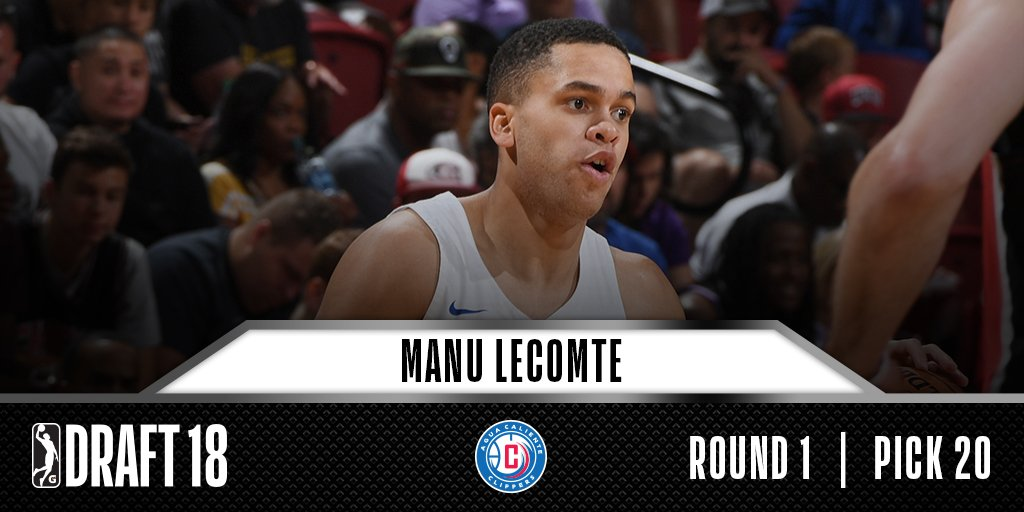 @nazsuns @GLeagueWarriors @grdrive @ACClippers #20 selection by the @ACClippers, @ManuLecomte20 was named to the 2017-18 All-@Big12Conference Second Team with @BaylorMBB.
