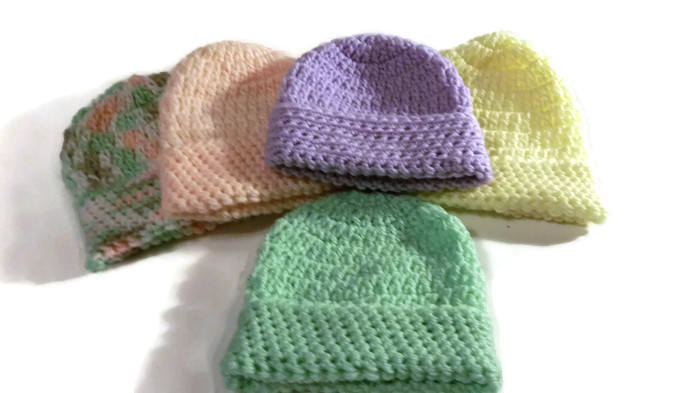 9f062476d30 ...  etsy shop  Crochet preemie Hat
