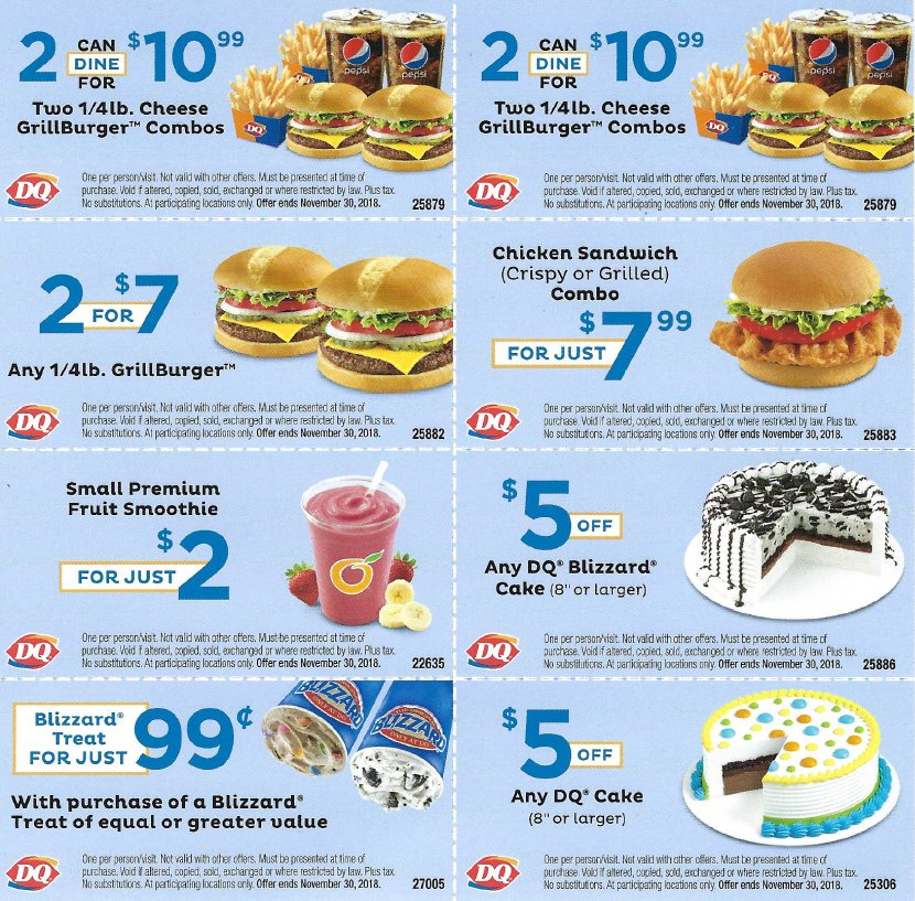 Stupendous Orangeville Dq On Twitter Have You Received The Dq Deal Icious Funny Birthday Cards Online Elaedamsfinfo