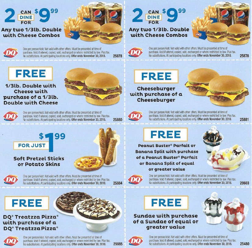 Strange Orangeville Dq On Twitter Have You Received The Dq Deal Icious Funny Birthday Cards Online Elaedamsfinfo