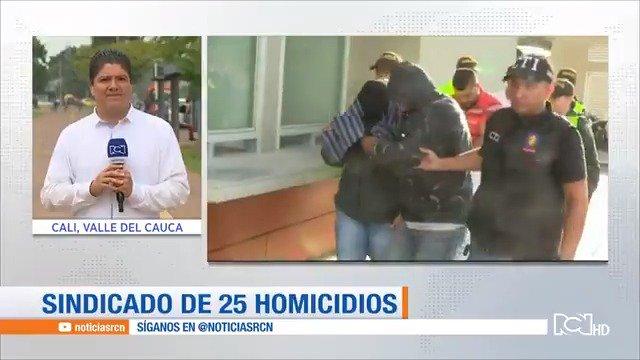Capturan a hombre que lideraba banda de sicariato en Cali   Señal en vivo: https://t.co/FRfKblkqGQ https://t.co/PrjbgPvJRI