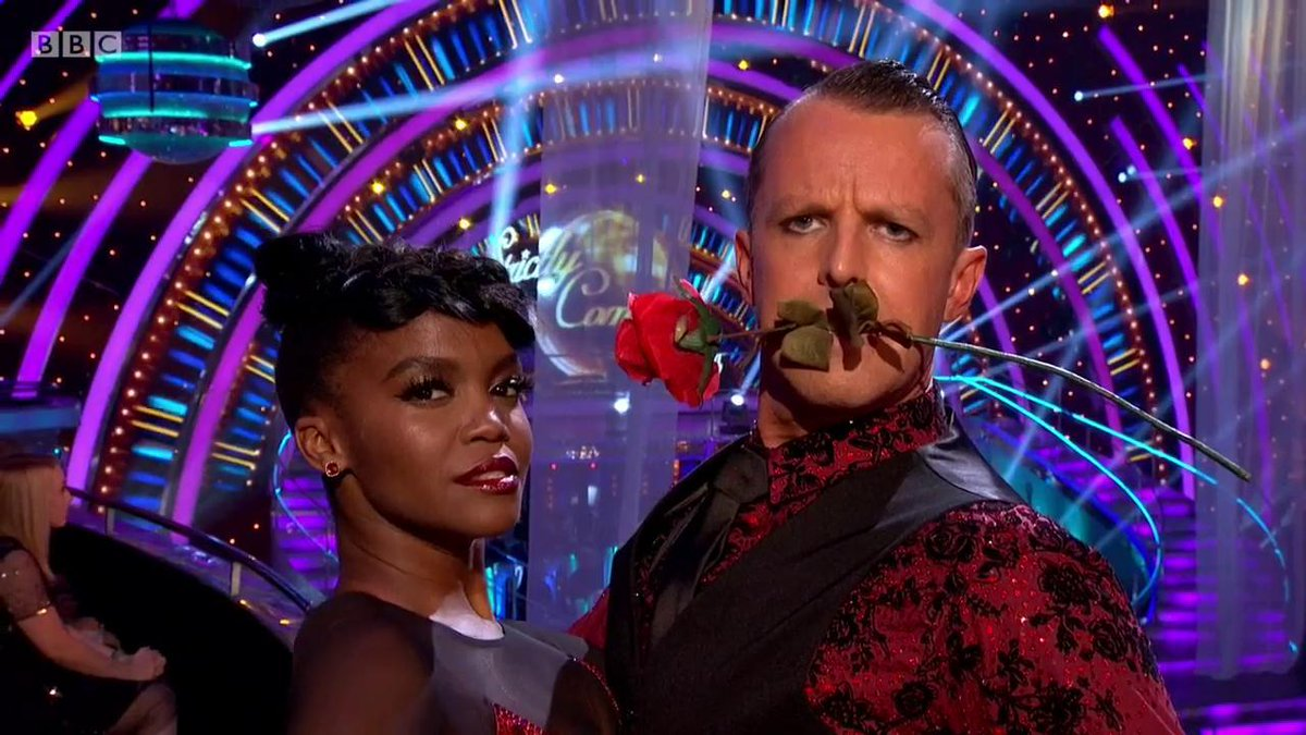 *matches on Tinder once* #Strictly