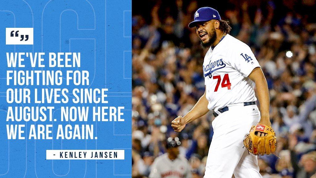 Will the @Dodgers get to fight another day? #Game7 https://t.co/ubtMl7eiva