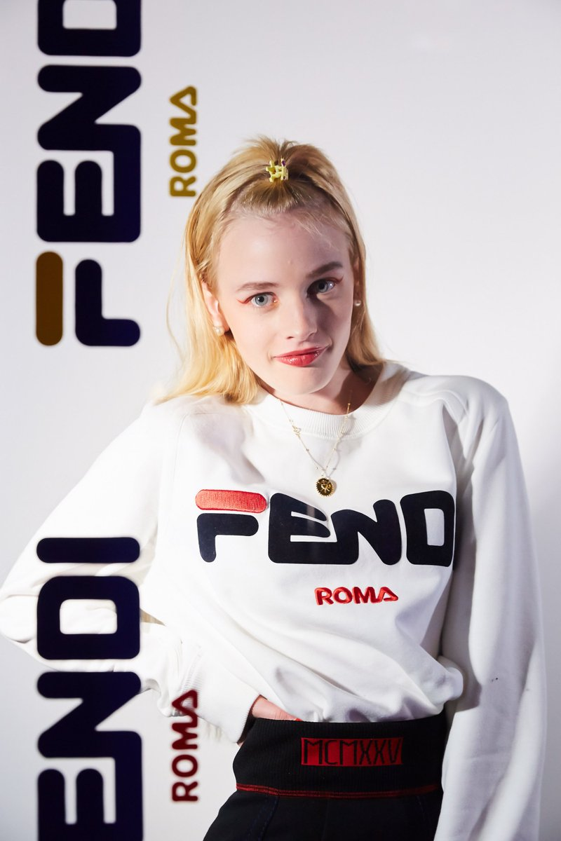 b8624c238a4f esther mcgregor at the fendimania one night only in los angeles feat fendi  fila by heyreilly