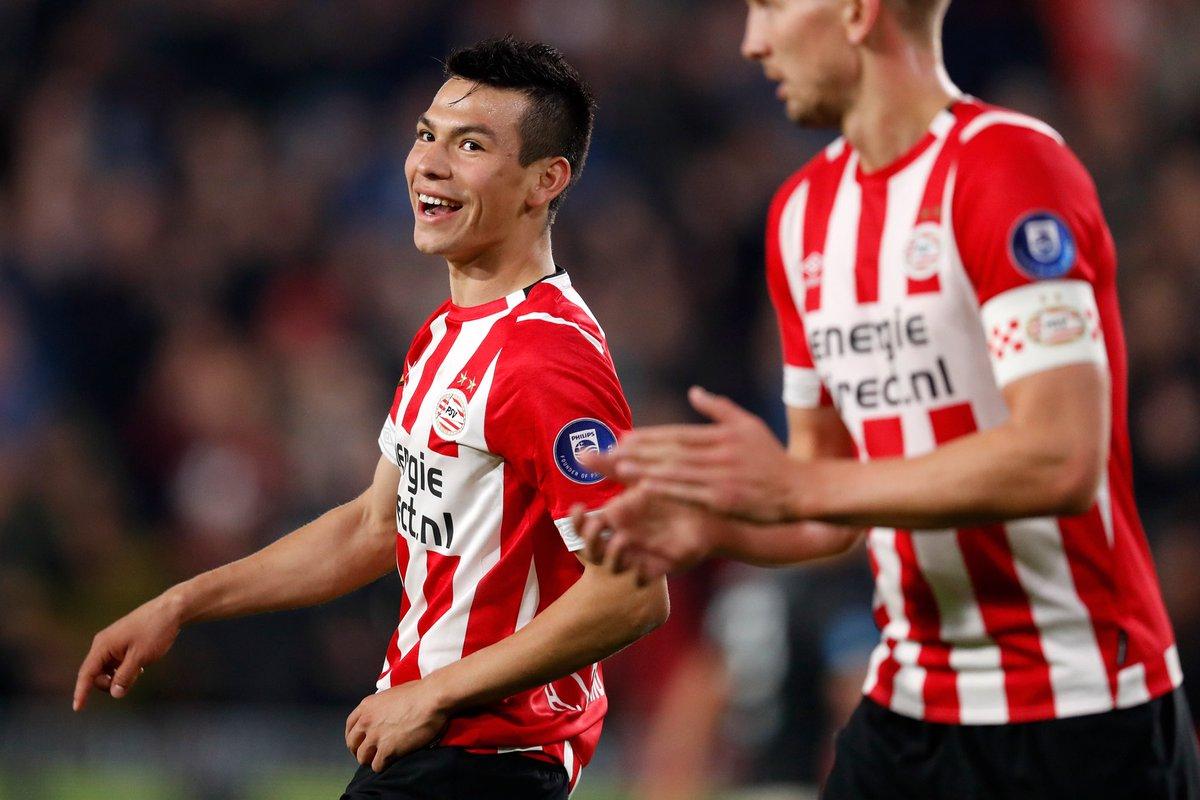 'Chucky' Lozano sigue marcando goles en Holanda
