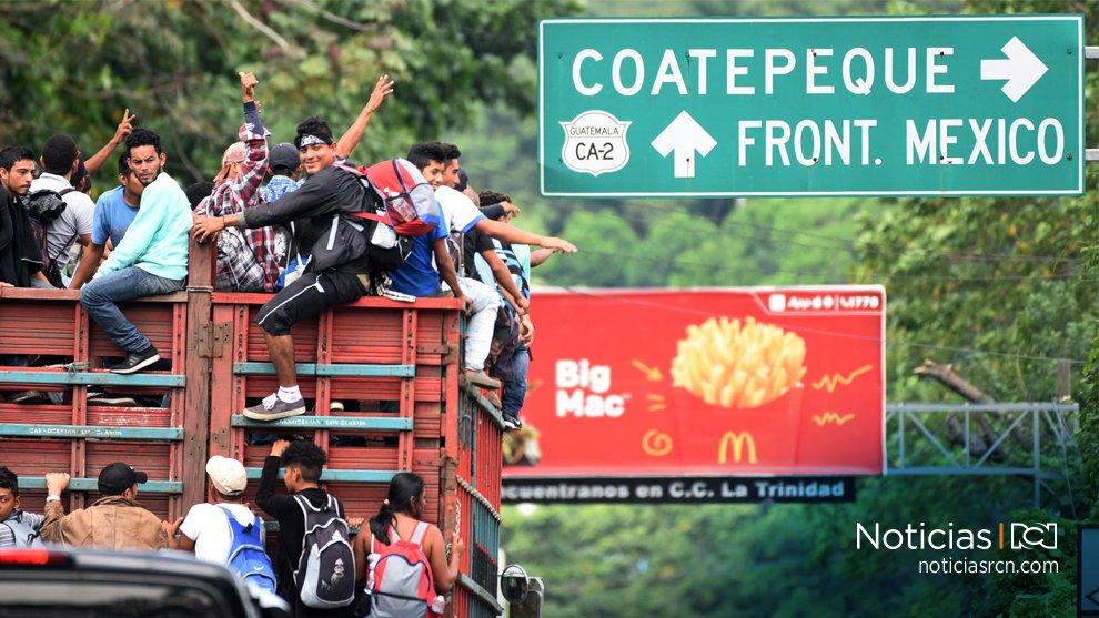 México abre frontera a mujeres y niños de caravana migrante hondureña en Guatemala https://t.co/BXPS3y0hKi https://t.co/MEwFBhpAlr
