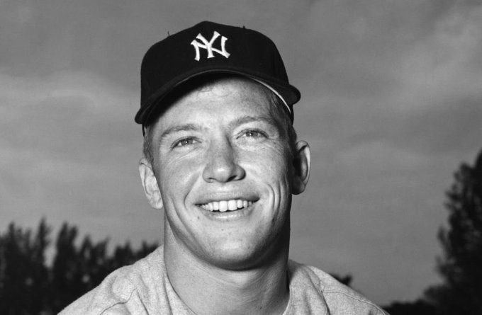 Happy Birthday Mickey Mantle!!!