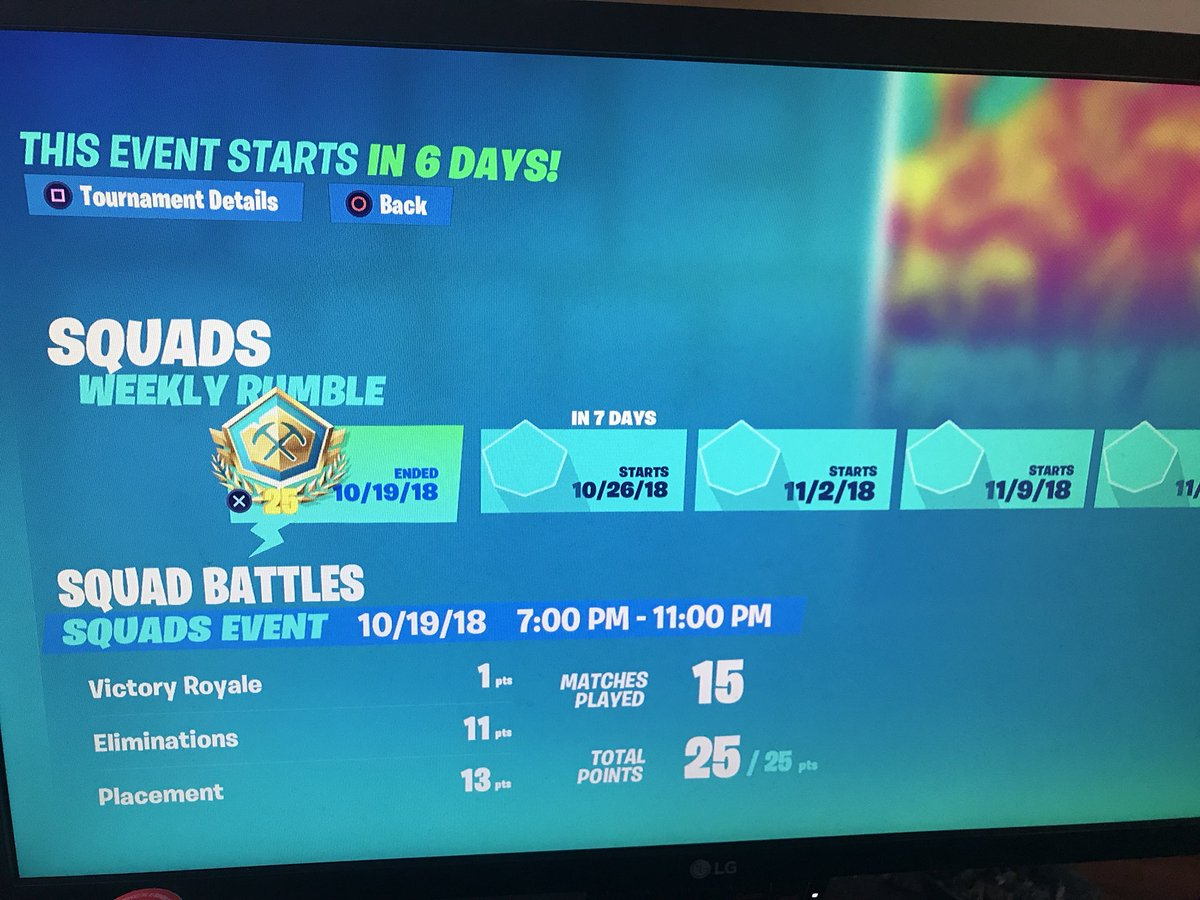 i knew there were issues with the point system in the friday fortnite tournament but - fortnite tournament points system