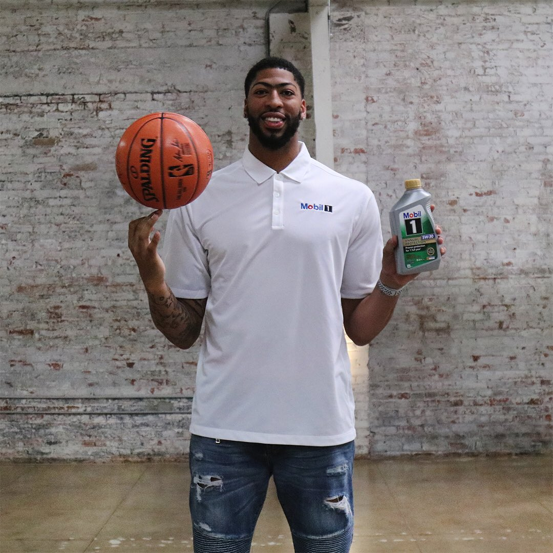 Back to work! 🏀Excited for another great basketball season with @Mobil1 Annual Protection! #ad