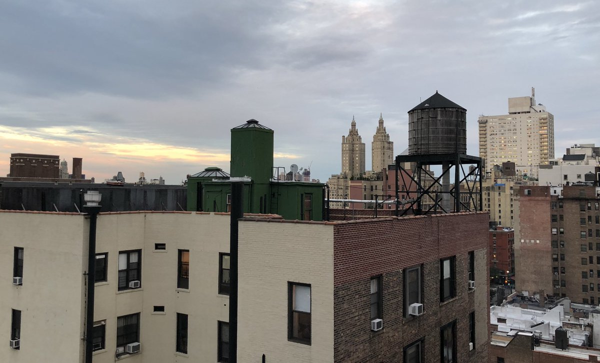 Up on the roof #nyc