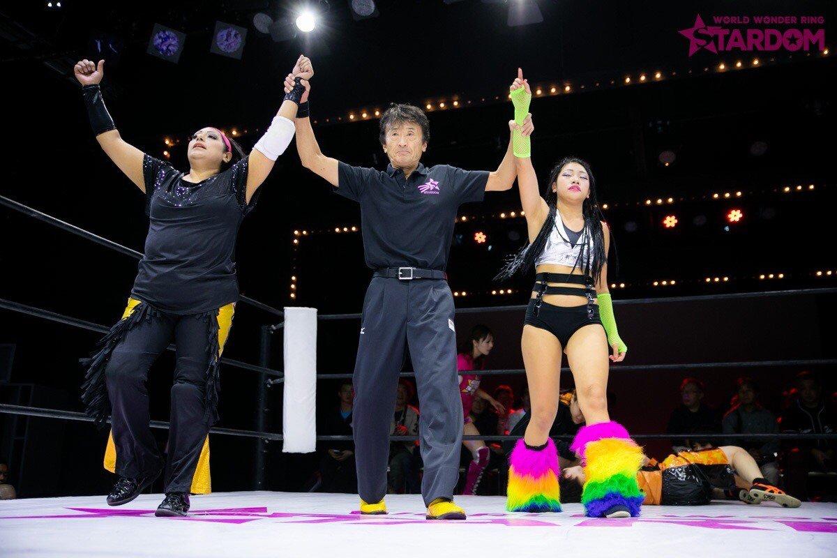 "Stardom:""Goddesses of Stardom Tag League"" Mari Apache y Hana Kimura triunfan 3"