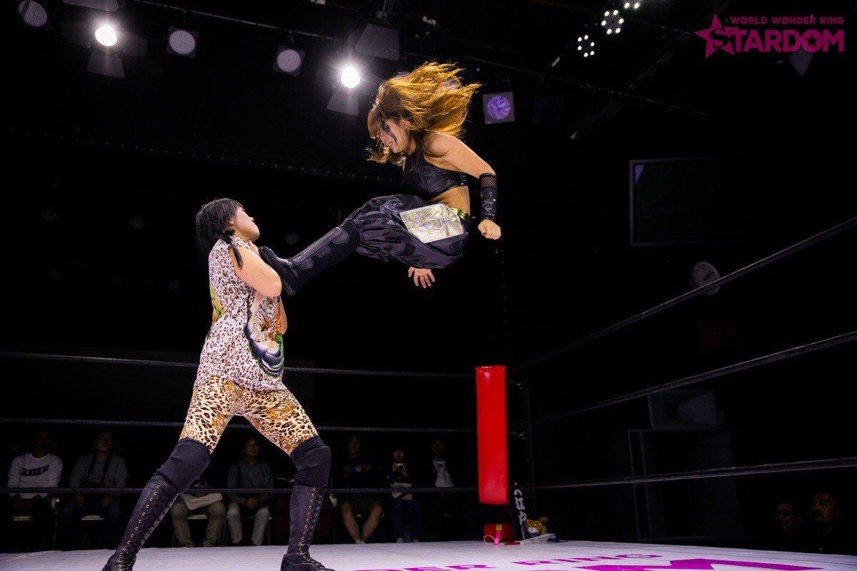 "Stardom:""Goddesses of Stardom Tag League"" Mari Apache y Hana Kimura triunfan 5"