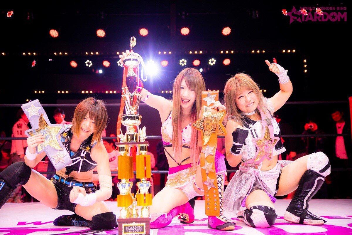 "Stardom:""Goddesses of Stardom Tag League"" Mari Apache y Hana Kimura triunfan 6"