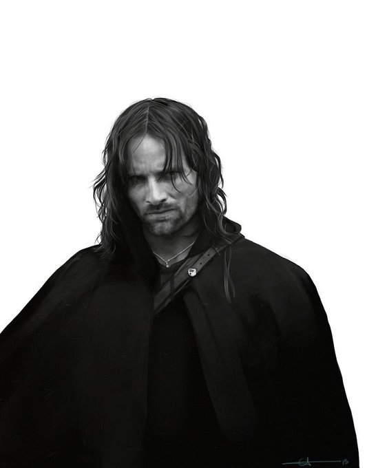 Happy birthday to viggo mortensen, the brilliant actor that gave life to aragorn