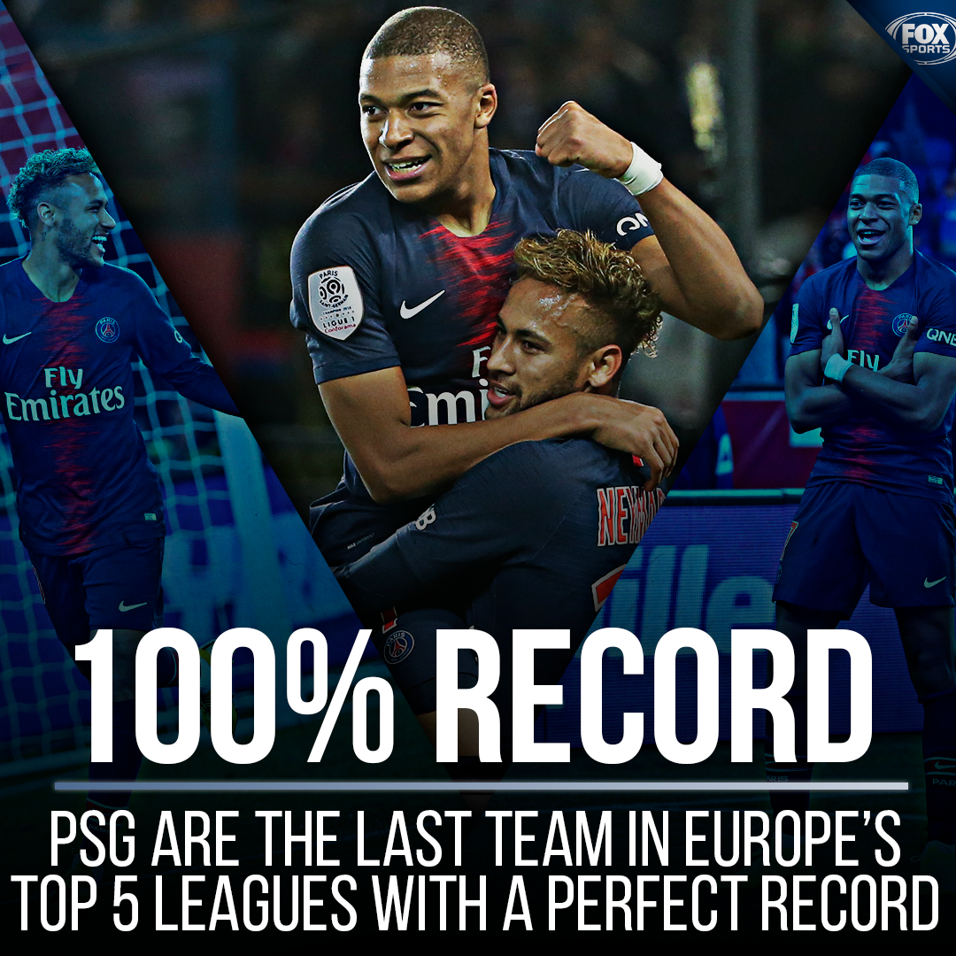 PSG are the last perfect team standing 💯