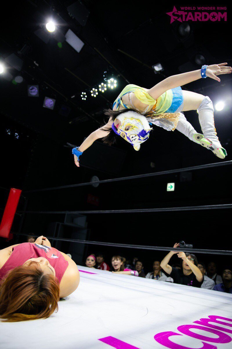 "Stardom:""Goddesses of Stardom Tag League"" Mari Apache y Hana Kimura triunfan 8"