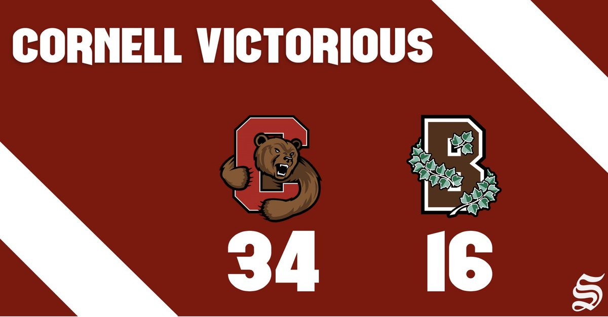 BROWN & OUT: Cornell wins second straight in Ivy with rout in Rhode Island