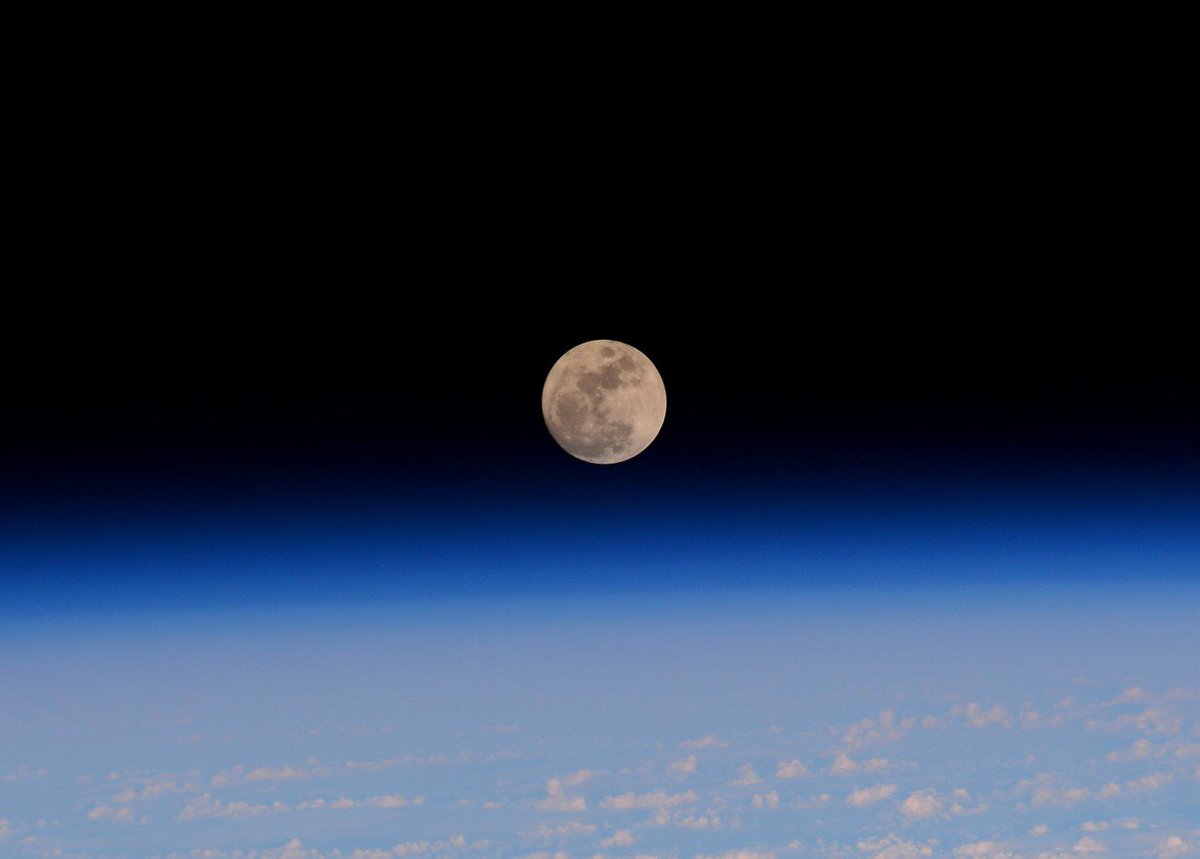 Share your pictures of the Moon on #ObserveTheMoon night tonight! Here is my pic from @Space_Station