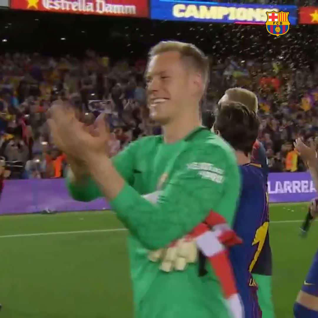 �� Super @mterstegen1!!!   #BarçaSevilla https://t.co/6kAFwGVekA